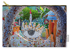 Carry-all Pouch featuring the photograph Fusterlandia Havana Cuba by Joan Carroll