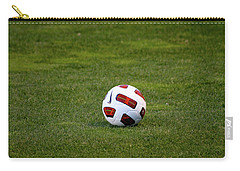 Carry-all Pouch featuring the photograph Futbol by Laddie Halupa
