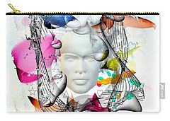 Future Of Life By Nico Bielow Carry-all Pouch