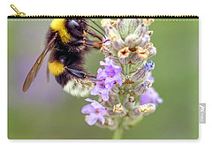 Fuzzy Bee Carry-all Pouch