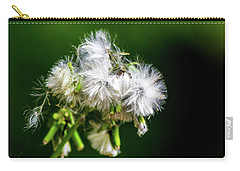 Carry-all Pouch featuring the photograph Fuzzy Macro by Shannon Harrington