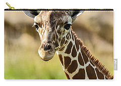 Carry-all Pouch featuring the photograph G Is For Giraffe by John Haldane