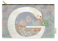 G Is For Goose And Grasshopper Carry-all Pouch