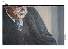 G K Chesterton Carry-all Pouch by Bryan Bustard