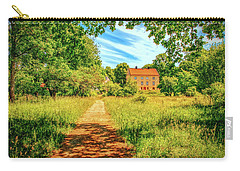Carry-all Pouch featuring the photograph Gaeddeholm by Leif Sohlman