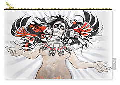 Gaia In Turmoil Carry-all Pouch by Sassan Filsoof