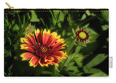 Gaillardia Carry-all Pouch by Garry McMichael