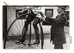 Gal On A Velocipede - Chicago 1922 Carry-all Pouch