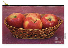 Gala Apple Basket Carry-all Pouch