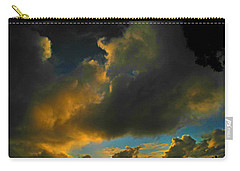 Galactic Sunset Carry-all Pouch by Mark Blauhoefer
