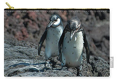 Galapagos Penguins  Bartelome Island Galapagos Islands Carry-all Pouch