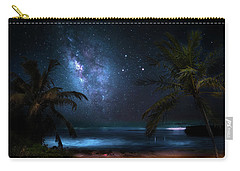 Galaxy Beach Carry-all Pouch by Mark Andrew Thomas