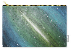 Galaxy's Eye Carry-all Pouch by Cyrionna The Cyerial Artist