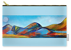 Galaxyscape Carry-all Pouch by Elizabeth Fontaine-Barr