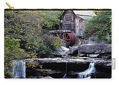 Carry-all Pouch featuring the photograph Galde Creek 2 by Ann Bridges