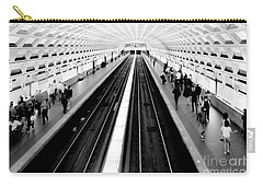 Gallery Place Metro Carry-all Pouch by Thomas Marchessault