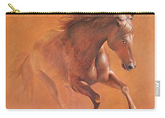 Gallop In The Desert Carry-all Pouch