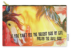 Galloper Quote Carry-all Pouch
