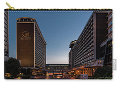 Carry-all Pouch featuring the photograph Galt House Hotel And Suites by Randy Scherkenbach