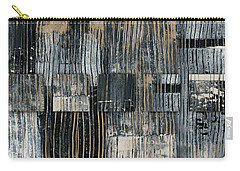 Carry-all Pouch featuring the photograph Galvanized Paint Number 2 Horizontal by Carol Leigh