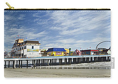 Galveston Pleasure Pier Carry-all Pouch by Allen Sheffield