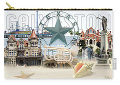 Galveston Texas Carry-all Pouch