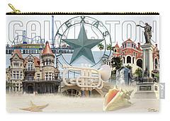 Galveston Texas Carry-all Pouch