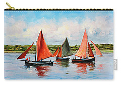 Galway Hookers Carry-all Pouch by Conor McGuire