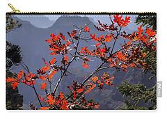 Gamble Oak In Crimson Fall Splendor Carry-all Pouch