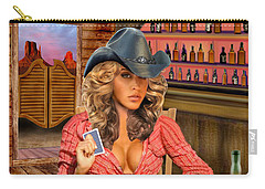 Gamblin' Cowgirl Carry-all Pouch