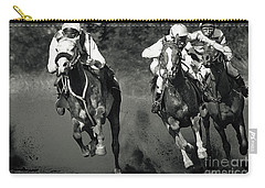Gambling Horses Carry-all Pouch