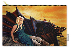 Game Of Thrones Painting Carry-all Pouch