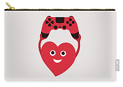 Gamer Heart Carry-all Pouch