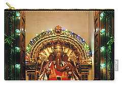 Carry-all Pouch featuring the photograph Ganesh Shrine by Granger