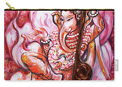 Ganesha - Enjoying Music Carry-all Pouch