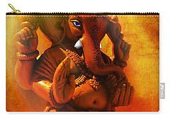 Ganesha Hindu God Asian Art Carry-all Pouch