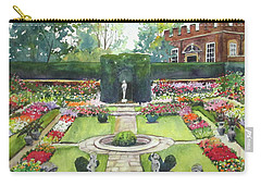 Garden At Hampton Court Palace Carry-all Pouch