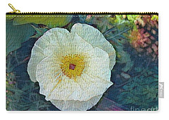Carry-all Pouch featuring the photograph Garden Beauty by Kathie Chicoine