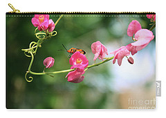 Carry-all Pouch featuring the photograph Garden Bug by Megan Dirsa-DuBois