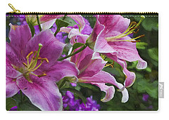 Garden Color Carry-all Pouch