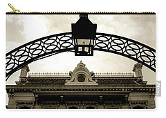 Carry-all Pouch featuring the photograph Garden District Lantern Arch by KG Thienemann
