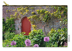 Garden Door - Paint With Canvas Texture Carry-all Pouch