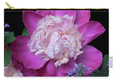 Carry-all Pouch featuring the photograph Garden Flowers by Ann Jacobson