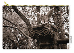 Garden Gargoyle  Carry-all Pouch by Toni Hopper