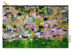 Carry-all Pouch featuring the painting Garden Glory by Judith Rhue