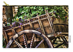 Garden In A Wagon Carry-all Pouch by Lana Trussell