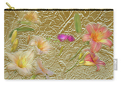 Garden In Gold Leaf2 Carry-all Pouch
