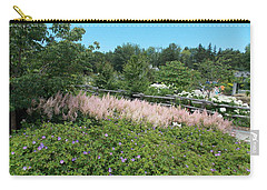 Garden In Maine Carry-all Pouch by Catherine Gagne