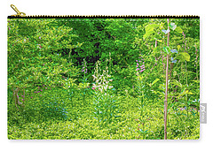 Carry-all Pouch featuring the photograph Garden June 2016 by Leif Sohlman