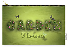 Garden Carry-all Pouch by La Reve Design
